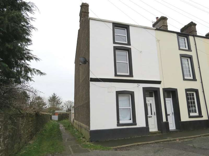 4 Bedrooms End Of Terrace House for sale in Brisco Road, Egremont, Cumbria
