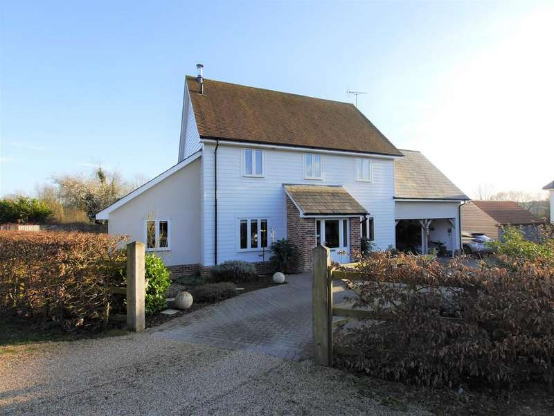 4 Bedrooms Detached House for sale in Upper Street, Layham, Ipswich, Suffolk, IP7 5JZ