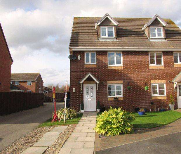 4 Bedrooms Semi Detached House for sale in DOUGLAS WAY, MURTON, SEAHAM DISTRICT