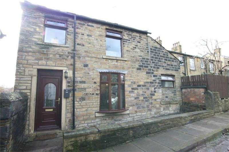 2 Bedrooms End Of Terrace House for sale in Bolland Buildings, LOW MOOR, West Yorkshire