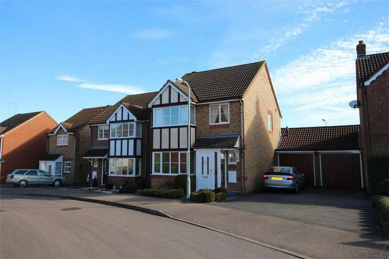 3 Bedrooms Detached House for sale in Neptune Gate, Stevenage, Hertfordshire