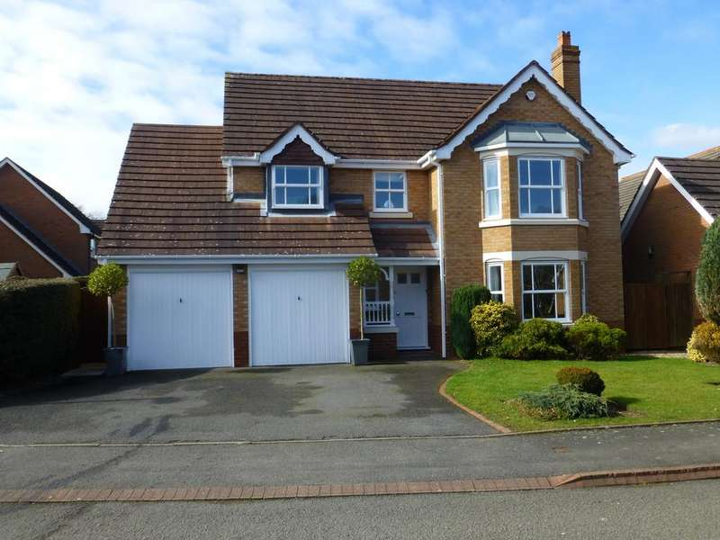 4 Bedrooms Detached House for sale in Hazelton Close, Solihull