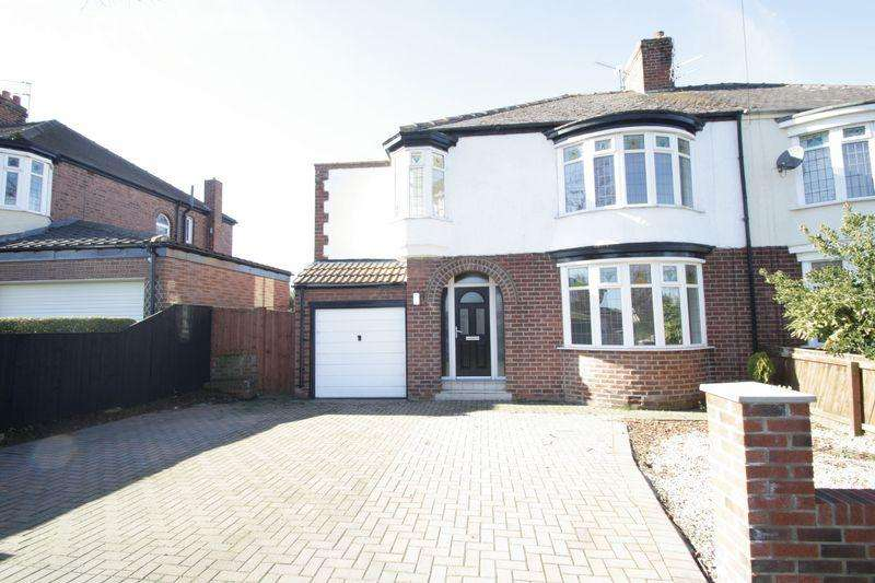 4 Bedrooms Semi Detached House for sale in Hartburn Avenue, Hartburn, Stockton TS18 4EX