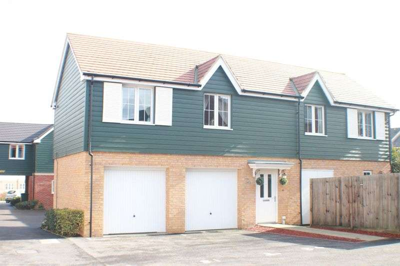 2 Bedrooms Semi Detached House for sale in Bedford Drive, Titchfield Common