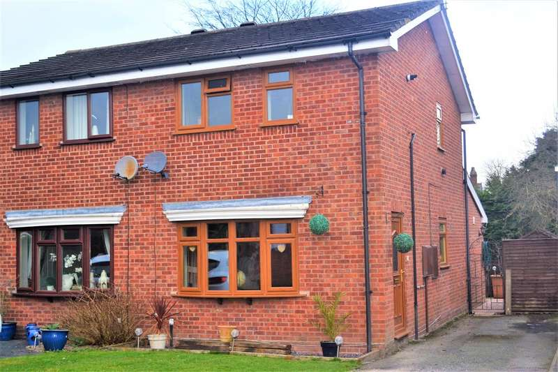 2 Bedrooms Semi Detached House for sale in Osmere Close, Whitchurch