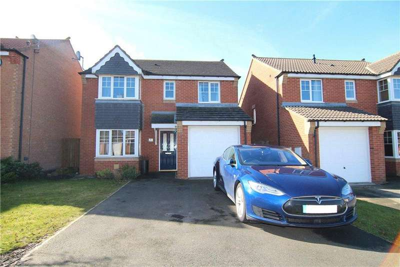 4 Bedrooms Detached House for sale in Ellerby Mews, Thornley, DH6