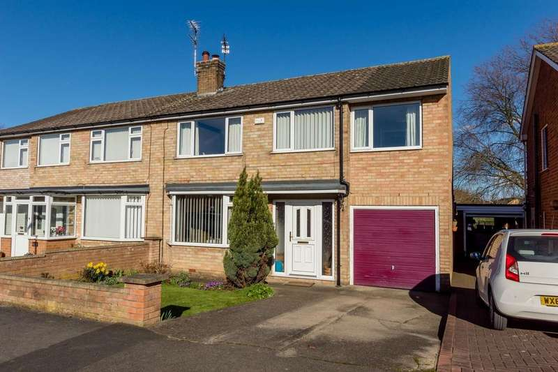 5 Bedrooms Semi Detached House for sale in Eastfield Crescent, Badger Hill, YORK
