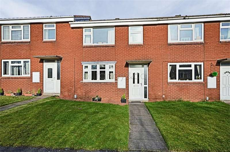 3 Bedrooms Terraced House for sale in Travellers Close, BURNTWOOD, Staffordshire