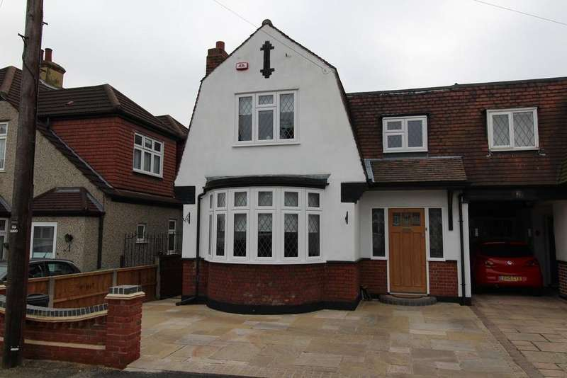 3 Bedrooms Semi Detached House for sale in Aldborough Road, RM14 2RS