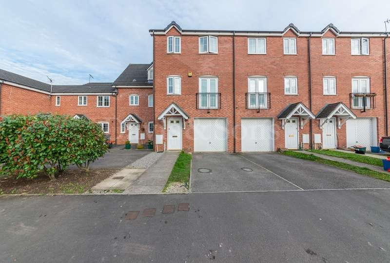 4 Bedrooms Terraced House for sale in Orchard Gardens, Off Caerleon Road , Newport. NP19 7LP