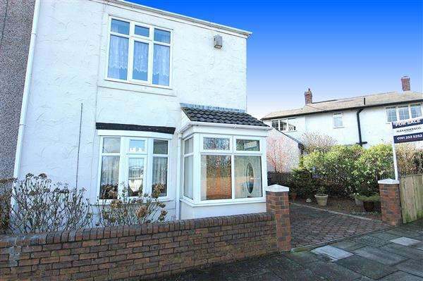 2 Bedrooms Semi Detached House for sale in Monkseaton Road, Wellfield