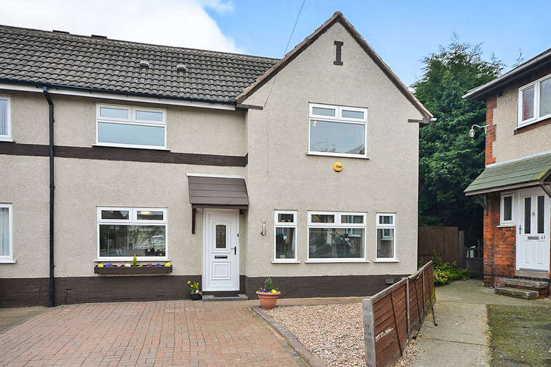 3 Bedrooms Semi Detached House for sale in Gladstone Avenue, Blackwell, Alfreton, DE55