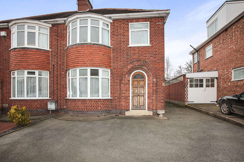 3 Bedrooms Semi Detached House for sale in Cleveley Drive, Nuneaton, CV10