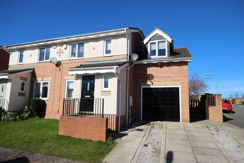 4 Bedrooms Semi Detached House for sale in Worcester Close, East Ardsley