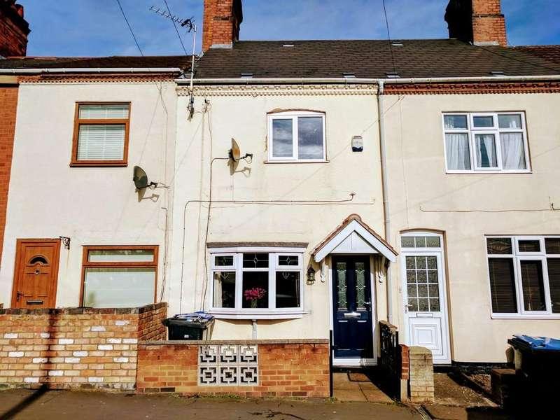 3 Bedrooms Terraced House for sale in Queens Road, Hinckley