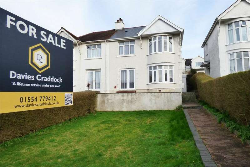 3 Bedrooms Semi Detached House for sale in 58 Parc Howard Avenue, Llanelli, Carmarthenshire