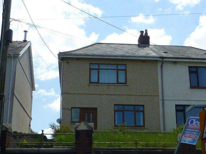 2 Bedrooms Semi Detached House for sale in Penybanc Road, Ammanford, Carmarthenshire.