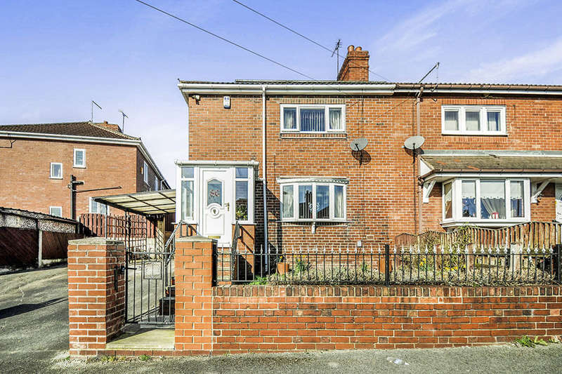 3 Bedrooms Semi Detached House for sale in Harold Avenue, Barnsley, S71