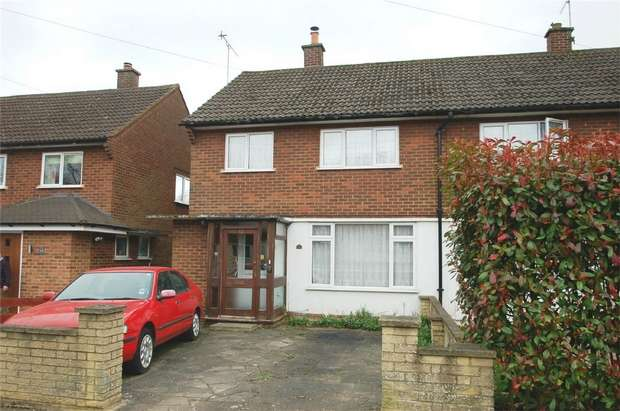 3 Bedrooms Semi Detached House for sale in Grasmere Road, St Albans, Hertfordshire