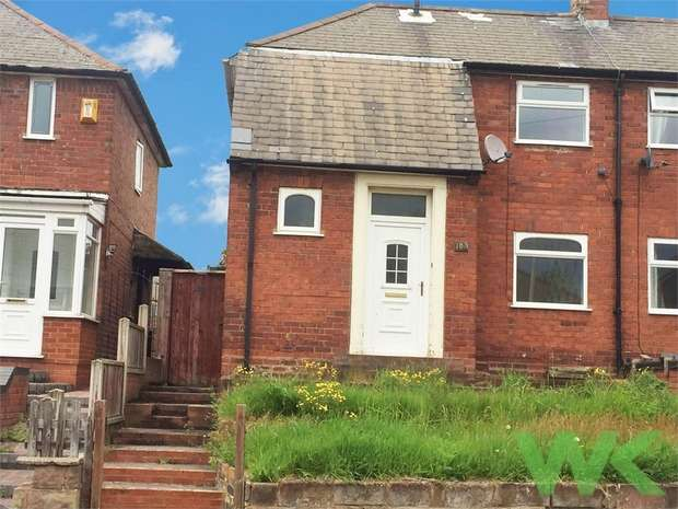 2 Bedrooms Semi Detached House for sale in Whitgreave Street, WEST BROMWICH, West Midlands