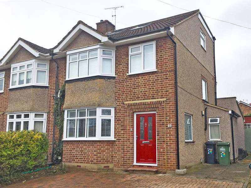 4 Bedrooms Semi Detached House for sale in Trafalgar Avenue, Broxbourne EN10