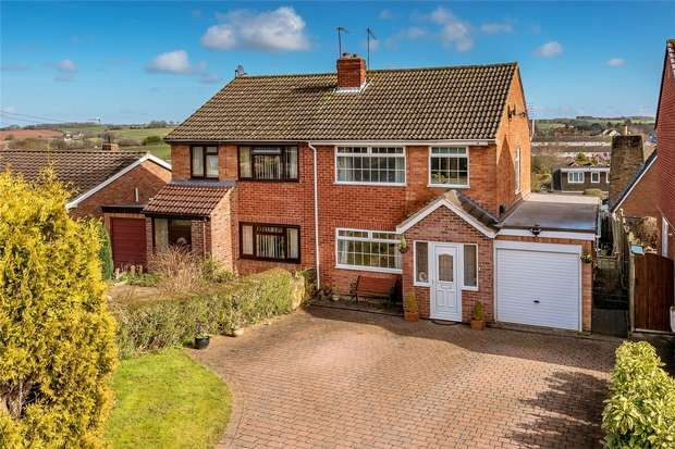 3 Bedrooms Detached House for sale in Holmes Orchard, Alveley, BRIDGNORTH, Shropshire