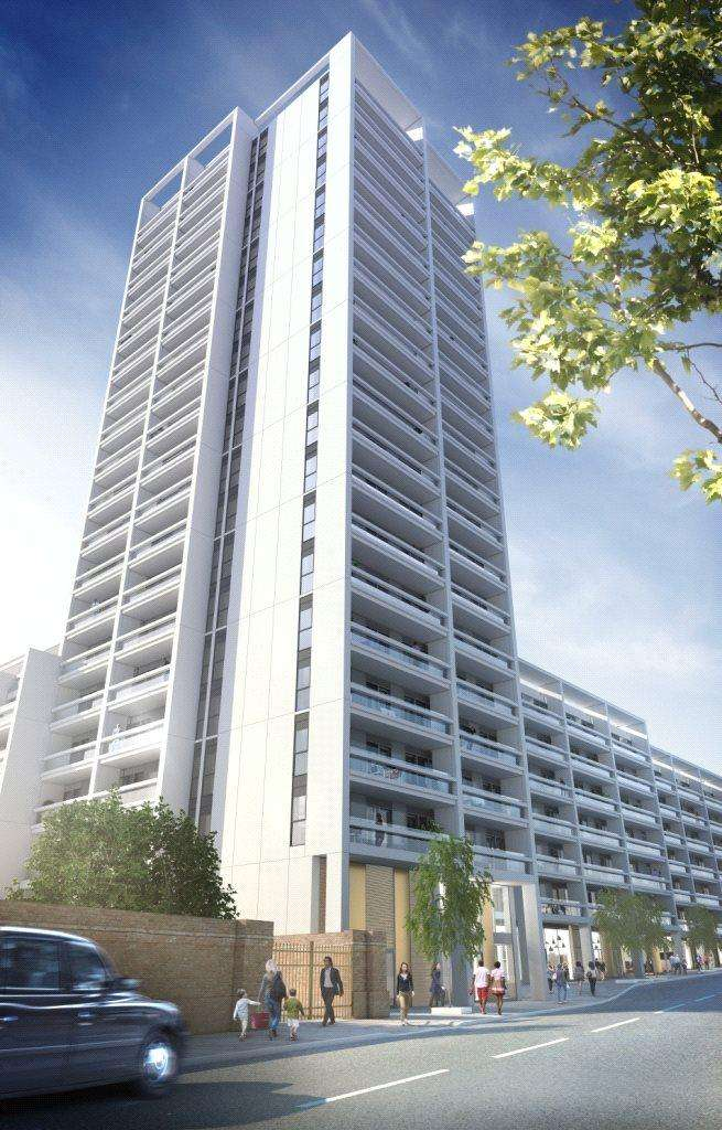 1 Bedroom Flat for sale in XY Apartments, Maiden Lane, London, NW1