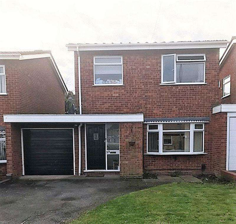 3 Bedrooms Detached House for sale in Gilpin Crescent, Pelsall, Walsall