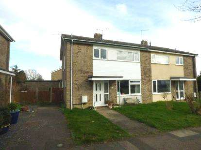 3 Bedrooms Semi Detached House for sale in Woolpit, Bury St. Edmunds, Suffolk