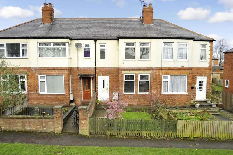 2 Bedrooms Terraced House for sale in Stockwell Drive, Knaresborough