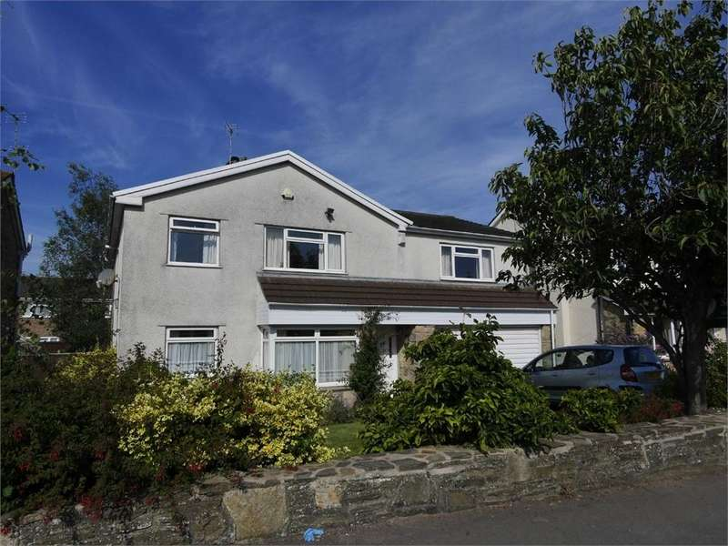 4 Bedrooms Detached House for sale in The Paddocks, Penarth