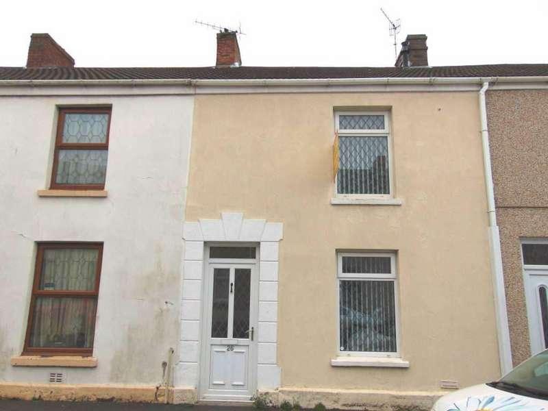 2 Bedrooms Terraced House for sale in Dillwynn Street, Llanelli