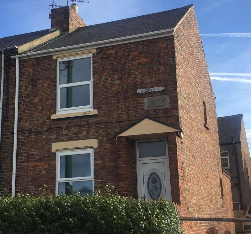 2 Bedrooms End Of Terrace House for sale in West Street, Ferryhill, Ferryhill, Co Durham, DL17 8JZ
