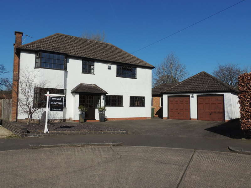 5 Bedrooms Detached House for sale in Redhouse Close, Bentley Heath
