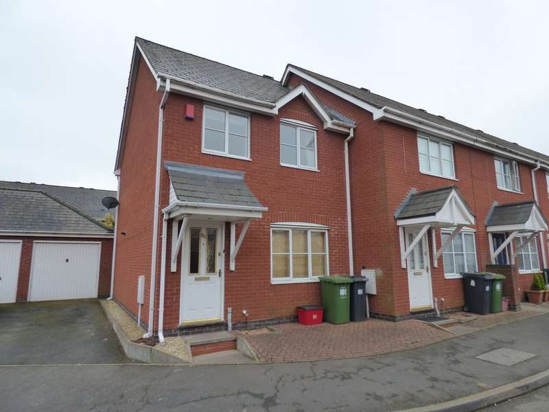 3 Bedrooms Semi Detached House for sale in Frances Havergal Close, Leamington Spa