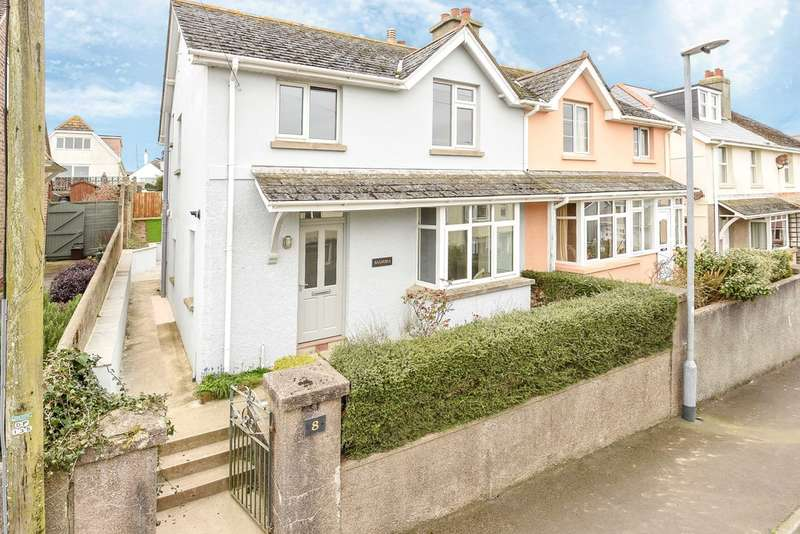 3 Bedrooms Semi Detached House for sale in Grenville Road, Salcombe, South Devon