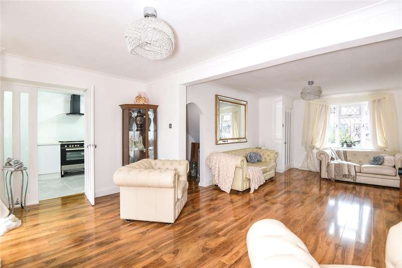 3 Bedrooms Link Detached House for sale in Kennett Drive, Yeading, Middlesex, UB4