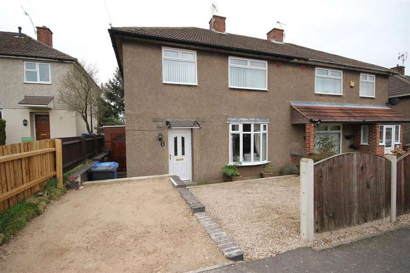 3 Bedrooms Semi Detached House for sale in Finchley Avenue, Derby