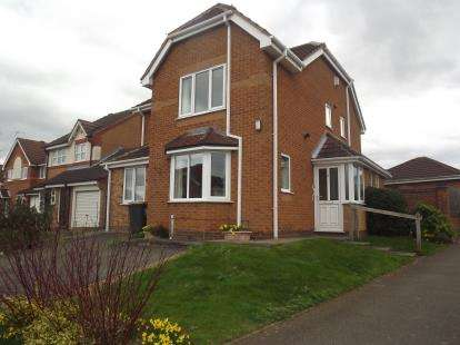 4 Bedrooms Detached House for sale in Bloomsbury Drive, Nuthall, Nottingham, Nottinghamshire