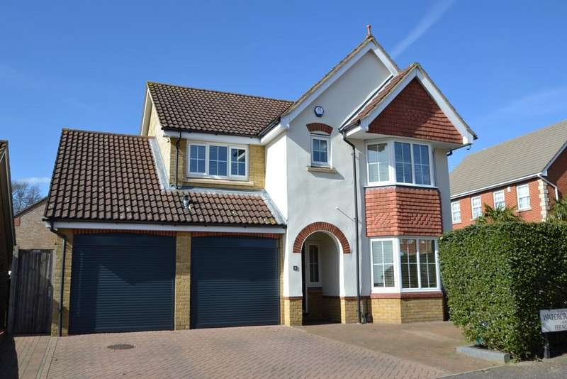 4 Bedrooms Detached House for sale in Watercress Road, Cheshunt, EN7