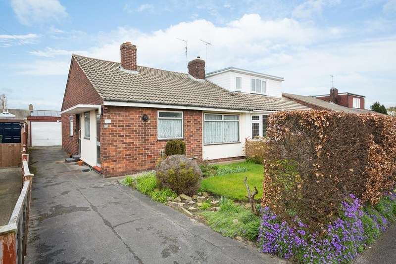 3 Bedrooms Semi Detached Bungalow for sale in Borrowdale Drive, York, YO30