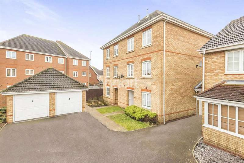 4 Bedrooms Semi Detached House for sale in Hatfield Garden Village