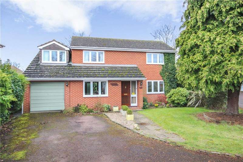 3 Bedrooms Detached House for sale in Meadow Road, Worcester, Worcestershire, WR3