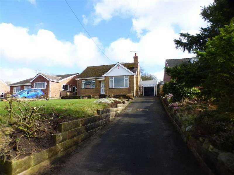 2 Bedrooms Detached Bungalow for sale in Moor View, Hazles Cross Road, Kingsley