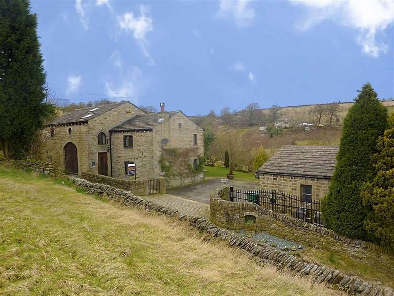 4 Bedrooms Detached House for sale in Mellor Lane, HOLMFIRTH, West Yorkshire, HD9