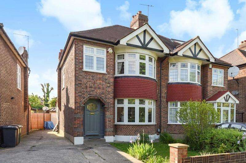 3 Bedrooms Semi Detached House for sale in Larkshall Road, London, Greater London. E4