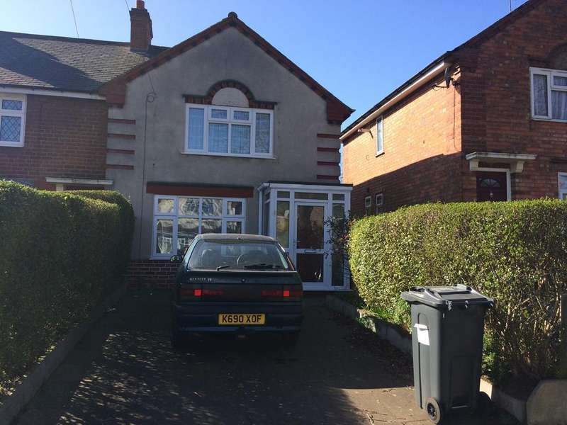 3 Bedrooms End Of Terrace House for sale in Pelham Road, Ward End, Birmingham B8