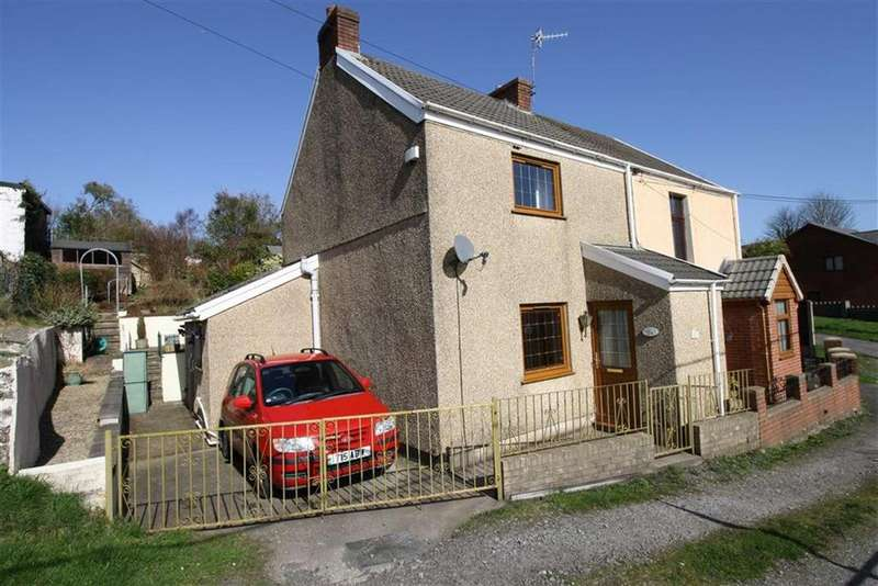 2 Bedrooms Semi Detached House for sale in Johns Lane, Hirwaun, Aberdare, Mid Glamorgan