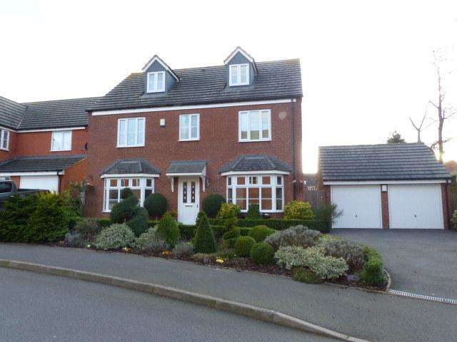 5 Bedrooms Detached House for sale in Royal Meadow Way,Streetly,Sutton Coldfield