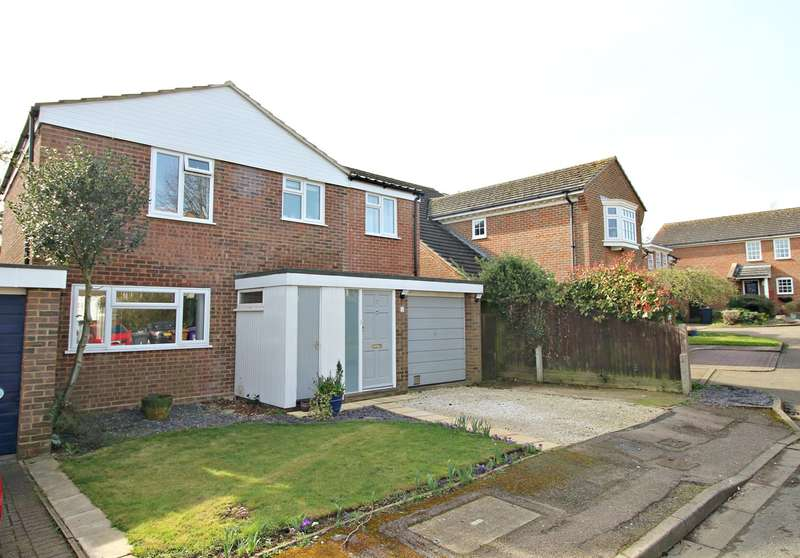 4 Bedrooms Detached House for sale in Walsh Close, Hitchin, SG5